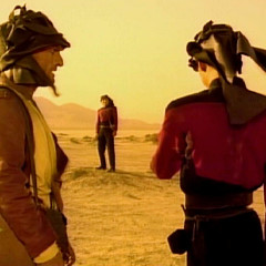 Final Mission, TNG S4 E09 Review, The Battle Bridge