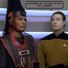 Data's Day (And the end of Miles' Life,) TNG S4 E11 Review, The Battle Bridge