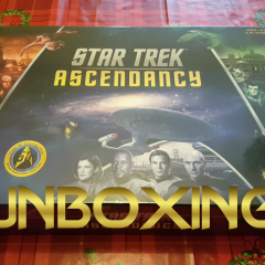 Star Trek: Ascendancy – An Unboxing Video