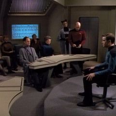 The Drumhead, TNG S4 E21 Review, The Battle Bridge