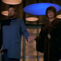 Half a Life, TNG S4 E22 Review, The Battle Bridge