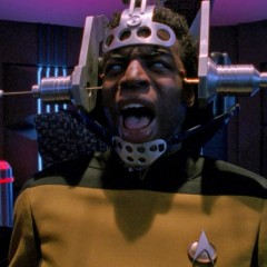The Minds Eye, TNG S4 E25 Review, The Battle Bridge