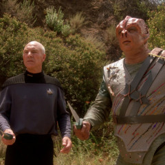 Darmok, TNG S5 E2 Review, The Battle Bridge.