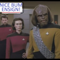 Ensign Ro, TNG S5 E3 Review, The Battle Bridge