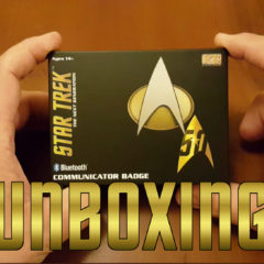 Unboxing the Star Trek: The Next Generation Bluetooth CommBadge from FameTek