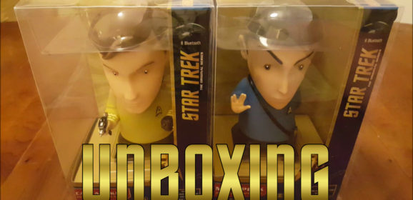 Unboxing the Star Trek: TOS – Kirk & Mr. Spock Bluetooth Figure Speakers from FameTek