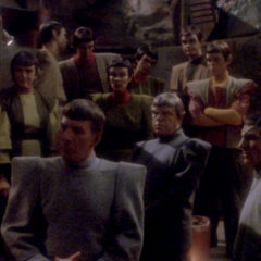 Unification II, TNG Season 5 Episode 8 review, The Battle Bridge.