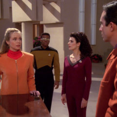 The Masterpiece Society, TNG S5 E13 Review, The Battle Bridge
