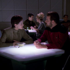 The Outcast, TNG S5 E17 Review, The Battle Bridge – OOPS posted out of order.
