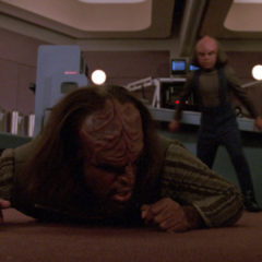 Ethics, TNG S5 E16 Review, The Battle Bridge