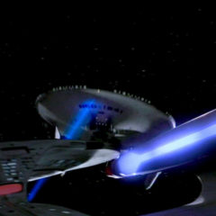 Cause and Effect, TNG S5 E18 Review, The Battle Bridge