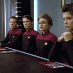The First Duty, TNG S5 E19, The Battle Bridge