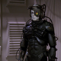 I Borg, TNG S5 E23 Review, The Battle Bridge