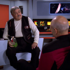 Relics, TNG S6 E04 Review, The Battle Bridge