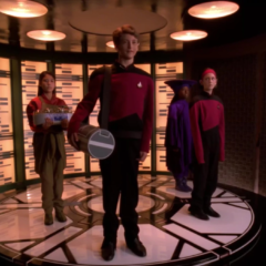 Rascals, TNG S6 E07 Review, The Battle Bridge