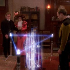 Ship in a Bottle, TNG S6 E12 Review, The Battle Bridge.