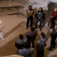 The Chase, TNG S6E20 Review, The Battle Bridge.