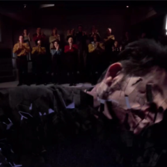 Frame of Mind, TNG S6 E21 Review, The Battle Bridge