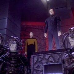 Decent, Part 2, TNG S7 E01 Review, The Battle Bridge