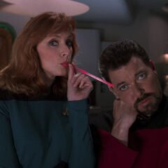 Phantasms, TNG S7 E06 Review, The Battle Bridge